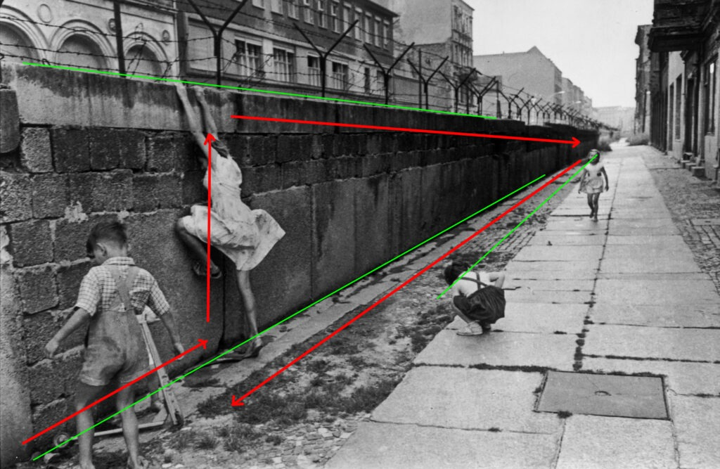 composizione fotografica i flussi@ gabriele donati fotografo