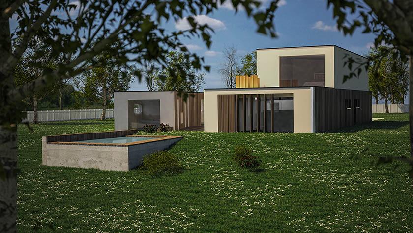 rendering architettura @gabriele donati fotografo